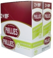 Phillie Southern Blend Pouch Cigars 15/2's - 60 cigars