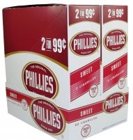 Phillie Sweet Pouch Cigars 15/2's - 60 cigars