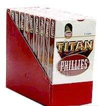 Phillie Titan Cigars pak 10/5's