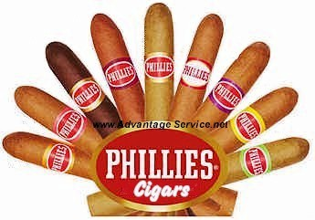 Phillies Strawberry Blunt Cigars Packs 10/5's - Box 50ct