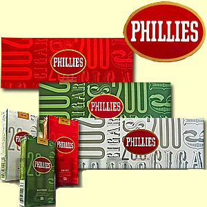 Phillies Filtered Cigars 10/20's - 200 Little Filtered Cigars
