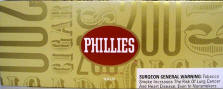 Phillie Gold Little Filtered Cigars 10/20's - 200 Cigars