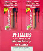 Phillie Strawberry Foil Pouch Cigarillo