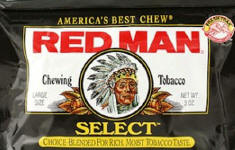 Red Man Select Chewing Tobacco 12ct