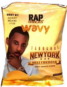 Fabolous Fabolous Rap Snacks Potato Chips 2.75oz bags Potato Chips 2.75oz bags
