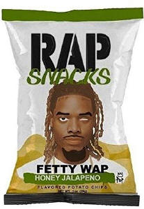 Fetty Wap Rap Snacks Potato Chips 2.75oz bags