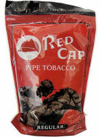 Red Cap Pipe Tobacco Regular 16oz Bag
