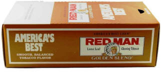 Red Man Golden Blend Chewing Tobacco 12ct