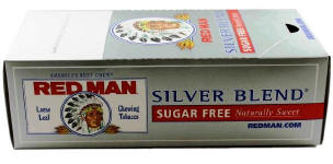 Red Man Silver Chewing Tobacco 12ct