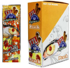 Royal Blunts XXL Peach Blunt Wraps 50ct
