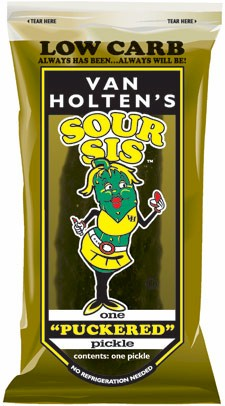 Van Holtens Sour Sis Pickle 12ct
