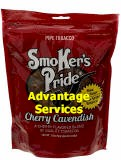 Smoker's Pride Cherry Cavendish Pipe Tobacco 12 oz bags