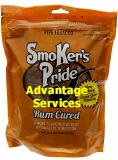 Smoker's Pride Rum Cured Pipe Tobacco 12 oz bags