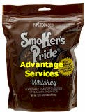 Smoker's Pride Whiskey Pipe Tobacco 12 oz bags
