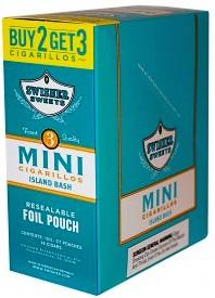 Swisher Sweets Mini Island Bash 15/3's - 45 cigars