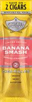 Swisher Sweets Banana Smash Cigarillo 2 for 99 Cigars