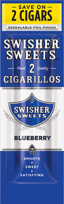 Swisher Sweets Blueberry Cigarillo 2 for 99¢ Cigars