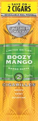 Swisher Sweets Boozy Mango Cigarillo 2 for 99¢ Cigars