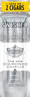 Swisher Sweets Diamonds Cigarillo 2 for 99¢ Cigars
