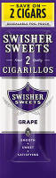 Swisher Sweets Grape Cigarillo 2 for 99� Cigars
