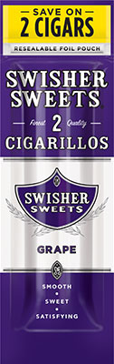 Swisher Sweets Grape Cigarillo 2 for 99¢ Cigars