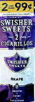 Swisher Sweets Grape Cigarillo 2 for 99 Cigars