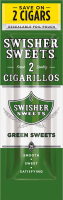 Swisher Sweets Green Sweets Cigarillo 2 for 99� Cigars