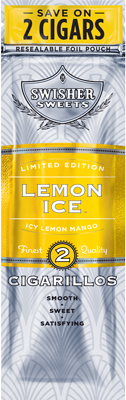 Swisher Sweets Lemon Ice Cigarillo 2 for 99¢ Cigars