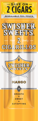 Swisher Sweets Mango Cigarillo 2 for 99¢ Cigars