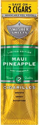 Swisher Sweets Maui Pineapple Cigarillo 2 for 99¢ Cigars