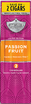 Swisher Sweets Passion Fruit Cigarillo 2 for 99¢ Cigars