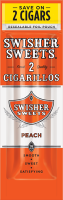 Swisher Sweets Peach Cigarillo 2 for 99� Cigars