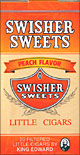 Swisher Sweets Peach Little Filtered Cigars