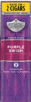 Swisher Sweets Purple Swish Cigarillo 2 for 99¢ Cigars