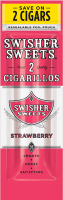 Swisher Sweets Strawberry Cigarillo 2 for 99¢ Cigars