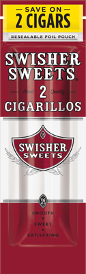 Swisher Sweets Sweet Cigarillo 2 for 99¢ Cigars
