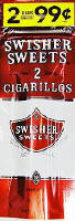 Swisher Sweets Sweets Cigarillo 2 for 99 Cigars