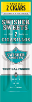 Swisher Sweets Tropical Fusion Cigarillo 2 for 99� Cigars