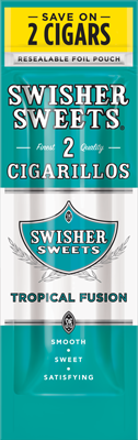 Swisher Sweets Tropical Fusion Cigarillo 2 for 99¢ Cigars