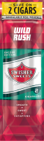 Swisher Sweets Wild Rush Cigarillo 2 for 99� Cigars