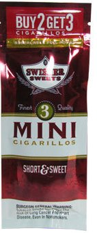 Swisher Sweets Mini Sweet 15/3's - 45 cigars