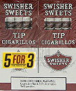 Swisher Sweets Cigarillo Tips  Buy 1 Get 1 Free (100 cigars)