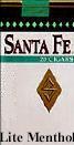 Santa Fe Lite Menthol Little Cigars 10/20's - 200 cigars