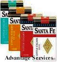 Santa Fe Grape Filtered Cigars - Santa Fe Grape Little Filtered Cigars 10/20's - 200 cigars