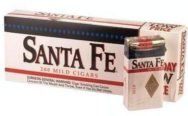 Santa Fe Mild Little Cigars 10/20's - 200 cigars