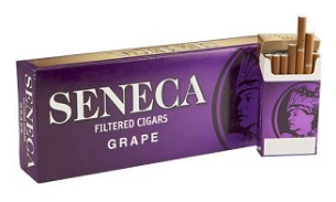 Seneca Grape Little Filtered Cigars 10/20's - 200 cigars