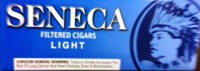Seneca Light Little Filtered Cigars 10/20's - 200 cigars