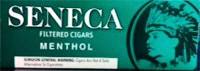 Seneca Menthol Little Filtered Cigars 10/20's - 200 cigars