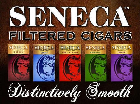 Seneca Little Cigars - Grape - Cherry - Full Flavor - Menthol - Light 10/20's - 200 cigars