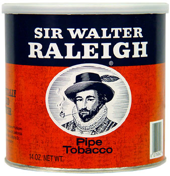 Sir Walter Raleigh Pipe Tobacco 14oz Cans